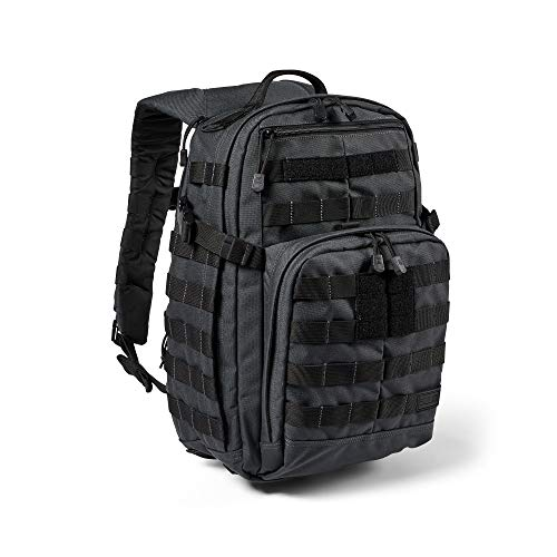 5.11 Tactical Backpack – Rush 12 2.0 – Military Molle Pack, CCW and Laptop Compartment, 24 Liter, Small, Style 56561 – Double Tap