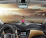 Danseuse hawaïenne Hunpta - À énergie solaire - Pour voiture - Poupée animée se balançant - Animal