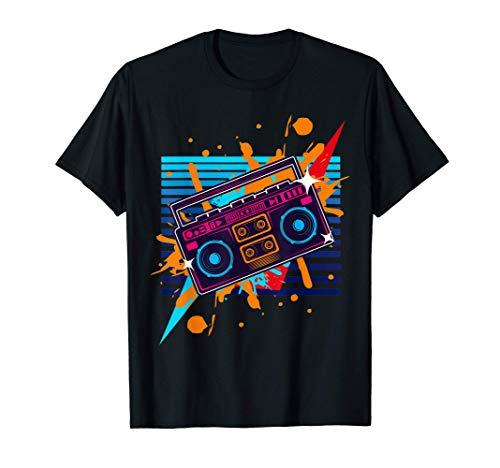 Boombox Radio Old School Hip Hop, Rap cassette T-Shirt