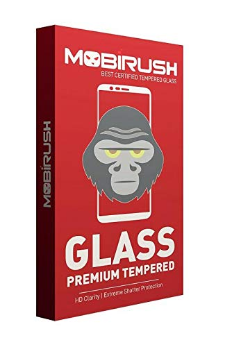 MOBIRUSH Premium 9h Hardness Gorilla Tempered Glass Screen Protector for Micromax Bolt Q338