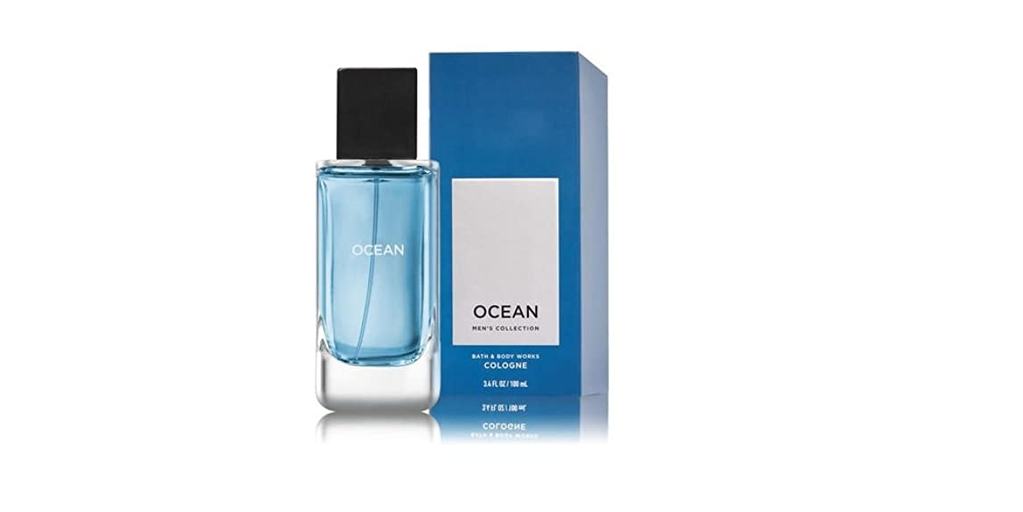 人物十分にオセアニア【並行輸入品】Bath and Body Works Ocean Men's Collection Cologne 100 mL