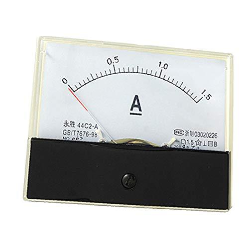 X-Dr DC 0-1,5A Strom Amperemeter Analoges Messgerät Messgerät 44C2 (864a2c6eb84d6a20d4aa2870f94e7855)