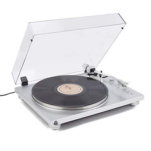 Gpo PR100 Tocadiscos 33/45 RPM Bluetooth, Plata