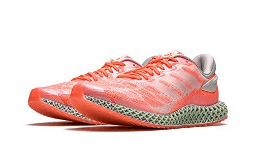 adidas Men's 4D Run 1.0 Cloud White/Signal Coral FW6838