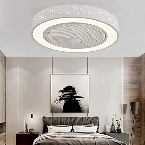 Beeki Ventilador de techo de lujo con ventilador de techo ligero Luz de techo con control remoto Ventilador de techo con control remoto Ventilador de techo con luz regulable Lámpara de techo Lámpara d