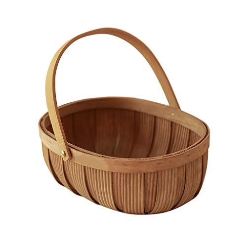 Maceteros de interior Cestas creativa tejido a mano de flores, cestas de picnic de frutas, cestas de camping Eco-Friendly, cestas de la compra, Artículos for el hogar Paletas para DecoracióN del Hogar