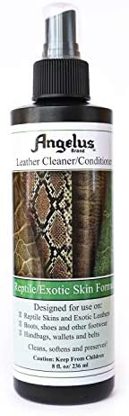 Angelus Reptile/Exotic Skin Leather Cleaner/Conditioner