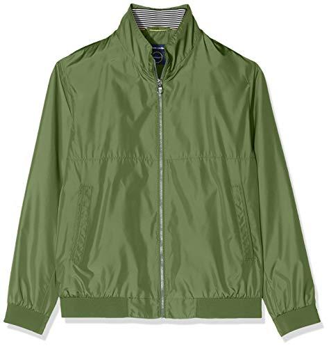 Pierre Cardin Herren Blouson Techno Solid Airtouch Jacke, Grün (Tree 6307), Large (Herstellergröße: 52)