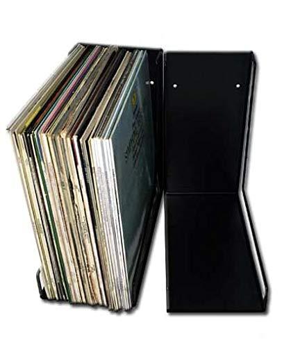 Angulo Soporte METALICO - para 40-45 Discos de Vinilo LP - Ref. 1934 - Marca CUIDATUMUSICA