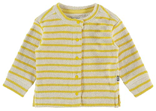 Imps & Elfs Baby-Unisex U Cardigan ls Durbanville Y/D STR Strickjacke, Mehrfarbig (Cream Gold P473), (Herstellergröße: 56)