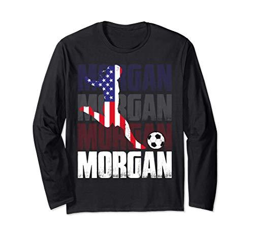 Morgan Soccer Calcio Regalo per la festa delle donne Maglia a Manica
