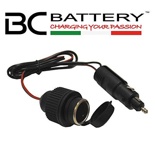BC Battery Controller 710-P1218 Connettore/Adattatore Hella/DIN 4165 12mm (Tipo ) a Presa cendisigari 12V 18mm-Made in Italy