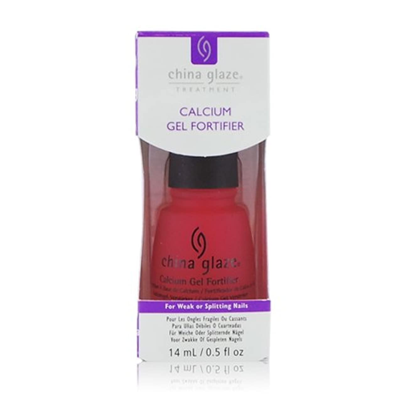 流サーフィン入り口(6 Pack) CHINA GLAZE Calcium Gel Fortifier - CGT906 (New Packaging) (並行輸入品)