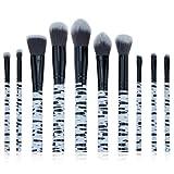 Dosige 10pcs Belleza Brush Pinceles cosmética Profesional Cepillo