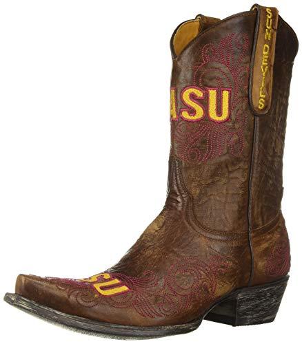 Gameday Boots NCAA Arizona State Sun Devils Damen 25,4 cm, Damen, AZS-L119, Messing, 6 B (M) US