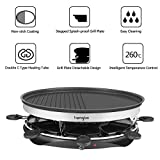 Zoom IMG-1 raclette grill griglia per con