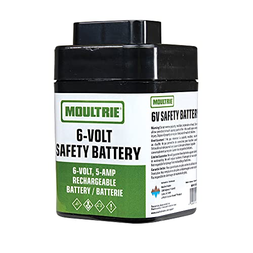 Moultrie MFHP12406 6-Volt, 5-Amp Rechargeable Safety Battery,Multi