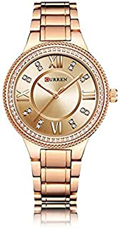 Curren Casual Watch For Women Analog Stainless Steel - 9004