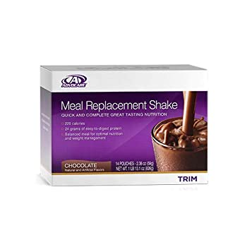 Advocare Meal Replacement Shakes Chocolate  14 Pouches  - 2.08 oz
