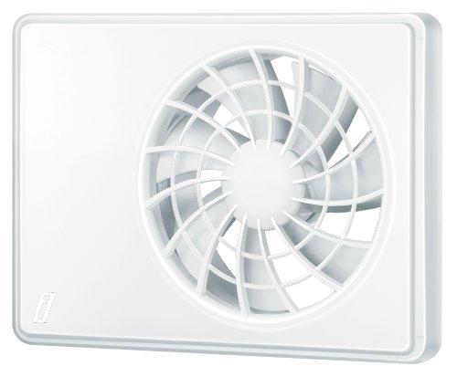 intelligenter Abluftventilator 100/125mm - Hygrostat, Drehzahlregelung und Fernbedienung inklusive