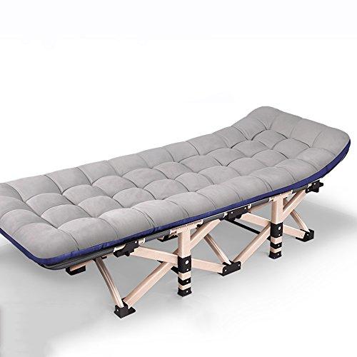 GWDJ Chaises longues Fauteuil inclinable créatif de ménage décontracté/balcon chaise pliante pratique/bureau pause de déjeuner lit pliant économiseur d'espace/chaise extérieure (7 couleurs dispo