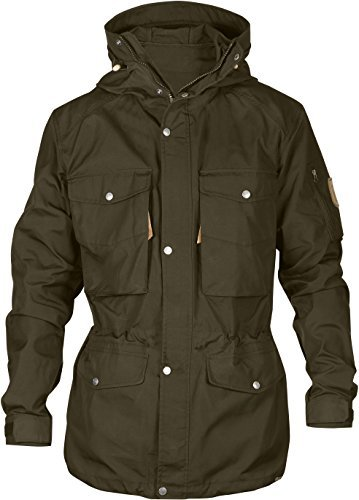 Fjallraven Sarek Trekking Jacket - Men's Dark Olive XL by Fjallraven