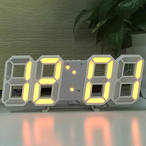 JIAXIN Reloj Pared Reloj Reloj De Pared Led 3D Reloj De Mesa...