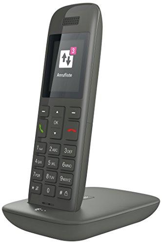 Telekom Speedphone 11 Grafit mit DECT Basis und Anrufbeantworter – wahlweise nutzbar am IP Anschluss oder am analogen a/b Port