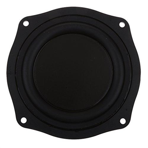 IPOTCH Niederfrequenz Vibrationsplatte Bass Membran Passiv Board DIY, 11.4x11.4x1.3cm