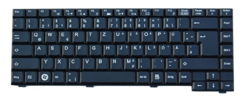 Fujitsu Original Tastatur Siemens Amilo L7300, Siemens Amilo V2010 Series DE Neu Schwarz