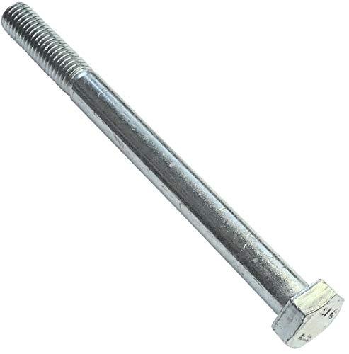 AERZETIX - Juego de 10 piezas - Pernos M12x140 parcialmente roscados - Cabeza Hexagonal - Ø12x140mm - DIN 931 - Clase 8.8 - Acero galvanizado - Bricolaje - Herramienta de montaje/Ferretería - C47555