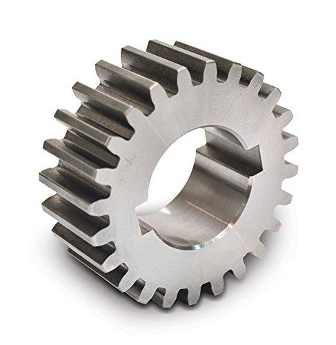 "Boston Gear GB20 Plain Change Gear, 14.5 Degree Pressure Angle, 16 Pitch, 0.750"" Bore, 20 Teeth, Steel"