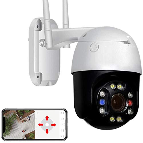Security Camera Outdoor Wireless WiFi with Monitor & Dvr, 1080P FHD...