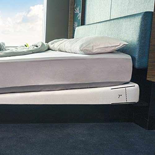 Avana Mattress Elevator - Under Bed 7-Inch Incline Foam Support, King