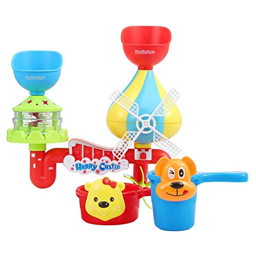 Lowest Prices! Markc Children's Water Bathing Water Spray Toy Joy Castle Small Fountain Boy Girl Bat...