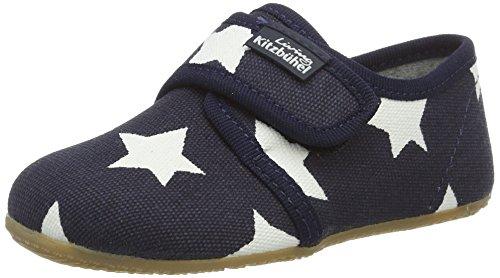 Living Kitzbühel Klettmodell Sterne Pantoffeln Unisex-Kinder, blau (Marine), 30 EU