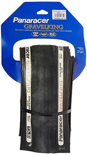 panaracer Grava Rey Plegable Tire, Unisex, Negro