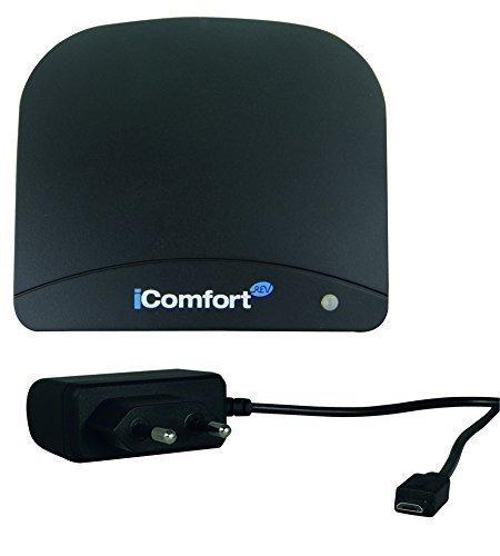 REV Ritter iComfort Gateway schwarz, 1 Stück - kostenlose Lieferung