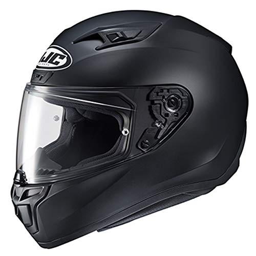 HJC Helmets 1502-633 Unisex-Adult Full Face Power Sports Helmets (Semi-Flat Black, Medium)