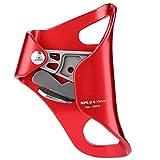 Jadeshay Klettern Ascender-Bergsteigen Klettern Hand Brust Ascender Abseilen Ausrüstung Seilklemme for 8-13mm (2 Farben) (Farbe : Red)