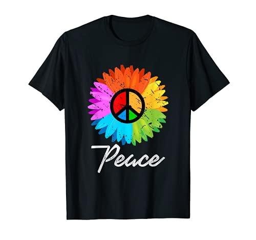 Paz Hippie Camiseta