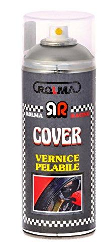 ROLMA COVER Vernice removibile TRASPARENTE OPACO - removable paint - bomboletta spray 400 ml. - spray can 400 ml.