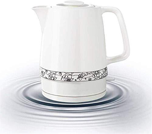 Vite, Céramique bouilloire électrique, sans fil eau Teapot 1.7liter, sans fil automatique de mise hors tension rapide ébullition, rapide Brew thé, soupe café, Bureau, style vintage