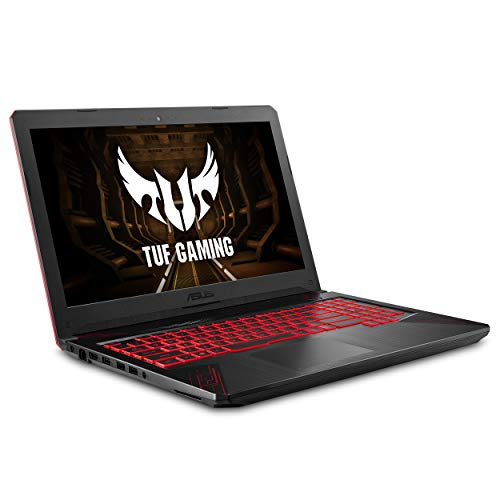 "ASUS TUF Thin & Light Gaming Laptop PC (FX504) 15.6"" Full HD, 8th-Gen Intel Core i5-8300H (up to 3.9GHz), GeForce GTX 1050 2GB, 8GB DDR4 2666 MHz, 1TB FireCuda SSHD, Windows 10 64-bit - FX504GD-ES51"