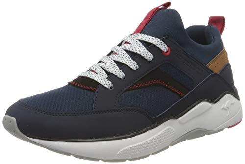 KangaROOS Herren KO-Smart Sneaker Low, dk Navy/k red, 47 EU