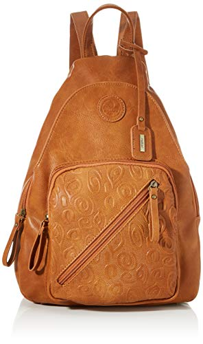 Rieker Damen Rucksackhandtasche H1060, Braun (nuss), 380x110x260 cm