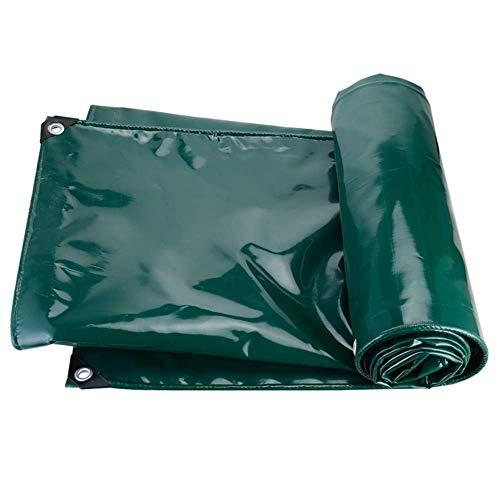 FREIHE.gpf Toile résistante imperméable 100% de Parasol et de PVC imperméable de bâche résistante utilisée pour Le Jardin/Piscine 650g / m (Couleur: Vert, Taille: 3x5m)