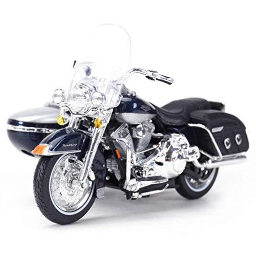Pkjskh 1: 18 Schwere Lokomotive Modell/Harley Crossover dreirädrige Motorrad-Modell/Kinder Kollektion Spielzeug Souvenirs/Wohnzimmer-Dekoration Dekoration