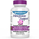 DrFormulas Menopause Supplement for Hot Flashes, Night Sweats Relief, Support and Weight Management with DIM, Dong Quai, Black Cohosh, 60 Count