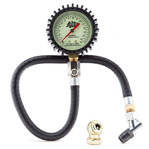 Joes Racing 32305 (0-15) PSI Tire Pressure Gauge